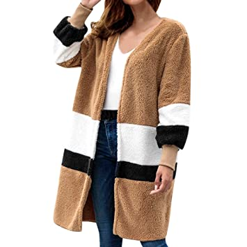 Amazon.com: TIANRUN Womens Winter Arctic Velvet Round Neck ...