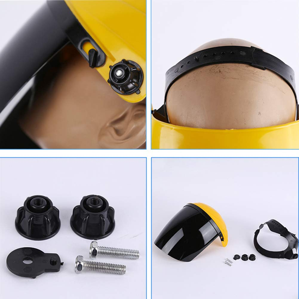 Dyda6 Welding Helmet Heat-Resistant Welding Protector Mask Electrowelding Welder Safety Face Shield and Visor Screen Welding Mask for Men Women