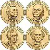 2008 Presidential Dollar 8-Coin Uncirculated Set P & D