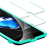 iPhone 8/7/6s/6 Screen Protector, [2-Pack] ESR iPhone 5-Times Enhanced Tempered Glass with [Free Self-Installation Kit], Anti-Scratch Anti-Fingerprint Anti-Oil Coating for 2017 4.7-inch iPhone