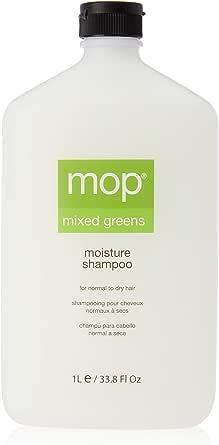 Mizani Mixed Greens Moisture Shampoo by MOP for Unisex, 33.83 Oz., 1156.66g