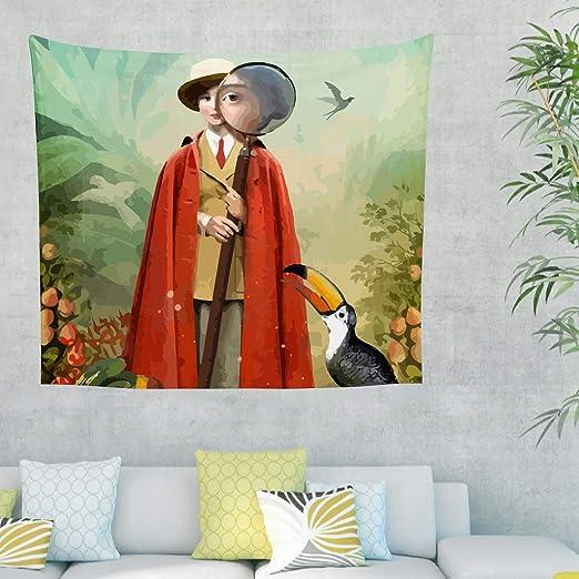 RNGIAN - Sofá de salón con diseño psicodélico y página de varitas ...