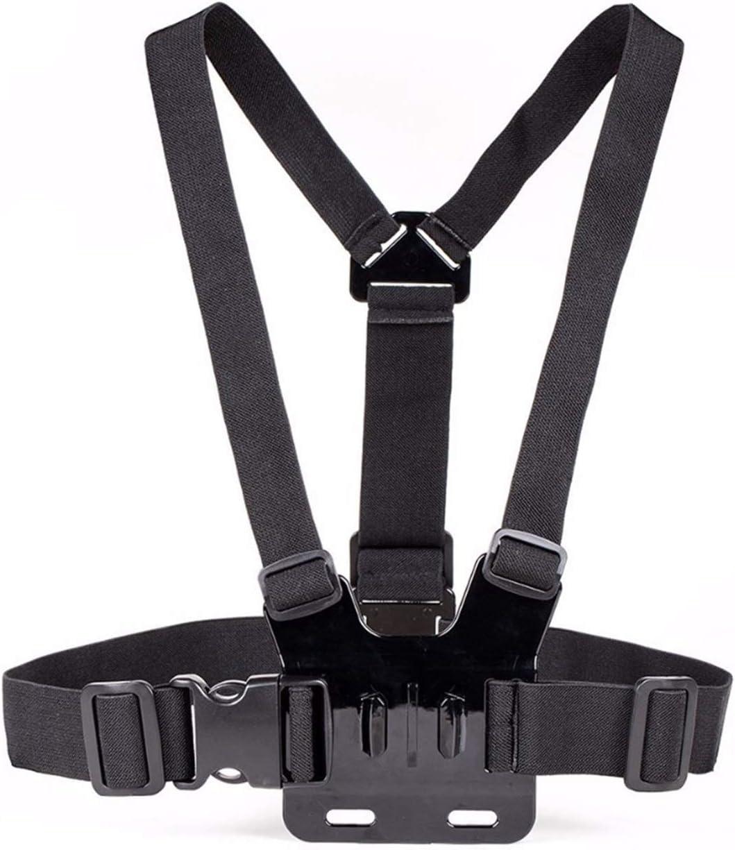 Cinturón de Montaje de Correa de Pecho para gopro héroe 5 4 xiaomi yi 4k cámara de acción arnés de Montaje en el Pecho para IR Pro SJCAM SJ4000 Sport CAM Fix