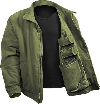 Amazon.com: Olive Drab - Chaqueta militar con acolchado ...