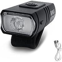 Tomshin T6 LED para bicicleta luz USB recarregável Power Display Mountain Road Bike lâmpada frontal USB recarregável…