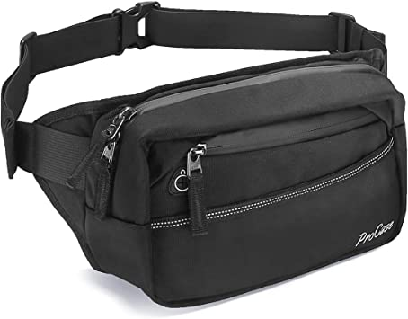 Stop Being Poor Sport Waist Pack Fanny Pack Adjustable For Travel