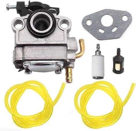 Amazon.com: HQparts Carburador y junta para Craftsman 30CC 4 ...