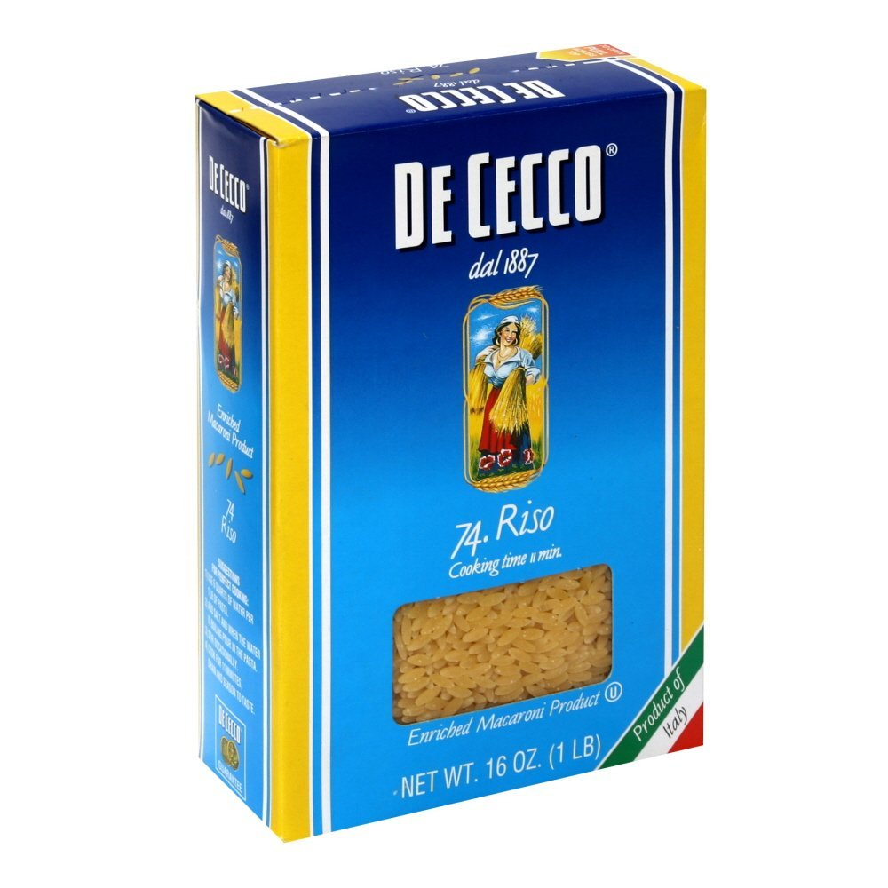 De Cecco Pasta Orzo by De Cecco