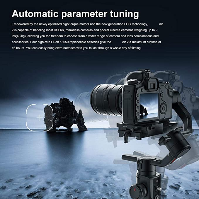 Estabilizador de cardán, cámara réflex Digital portátil de Mano ...