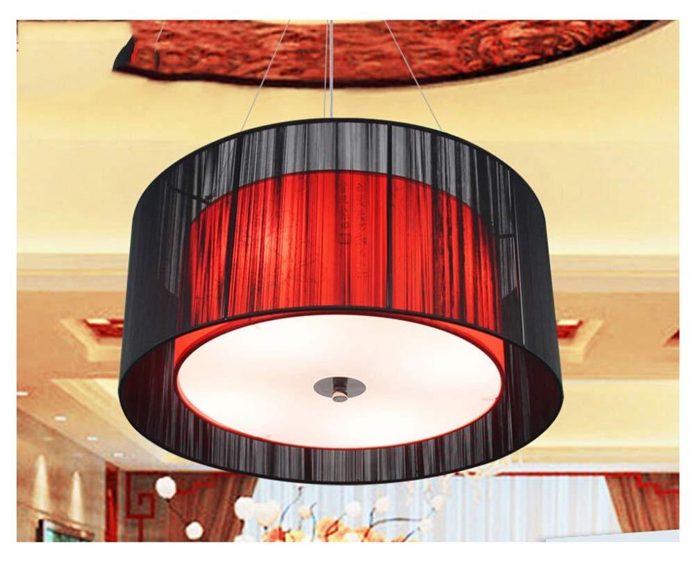 THOR-YAN - ペンダントライト シャンデリア現代レストランクリエイティブパーソナリティホテルの寝室美容クラブショップランプ起毛生地シンプルペンダント装飾 B07T8G479Y