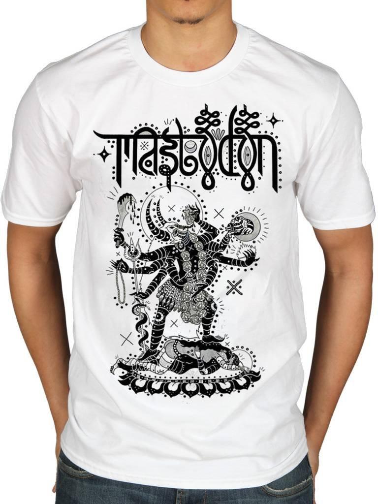 Official Mastodon Sutra T-Shirt Cold Dark Place Skye Sun Tribal Demon