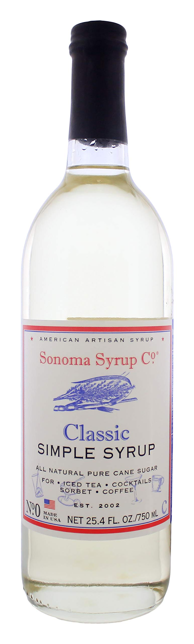 Sonoma Syrup Co. Classic Simple Syrup 25.4 fl. oz by Sonoma Syrup Co.