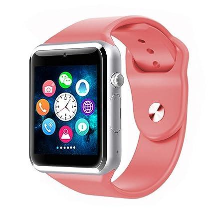 ZLOPV Pulsera Activa Bluetooth Reloj Inteligente Smartwatch ...