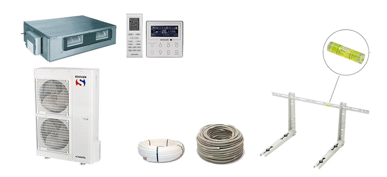 Split - Aire acondicionado Canal dispositivo Sinclair Uni 7 KW de DC Inverter a + +/A +: Amazon.es: Bricolaje y herramientas