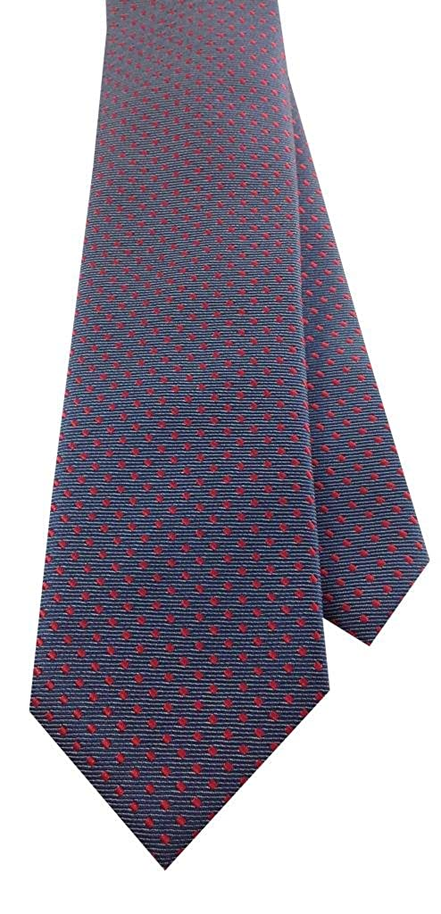 Blue with Red Design Boys Self Tie Necktie