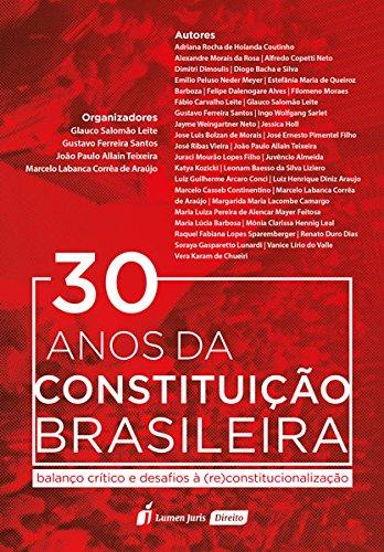 30 Anos da Constituição Brasileira. 2018