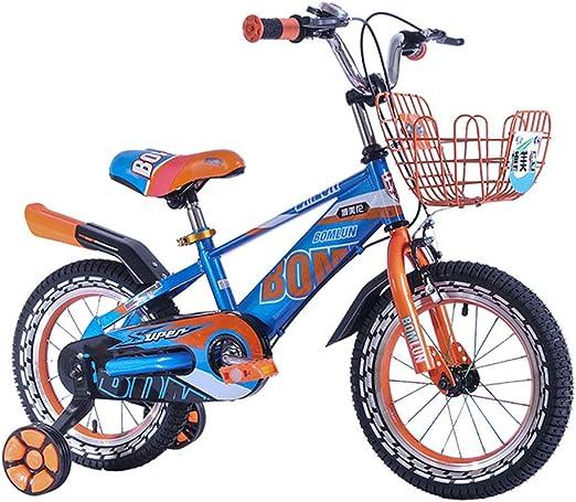 FJW Bicicleta para niños Bicicleta de Rueda de 14 Pulgadas ...