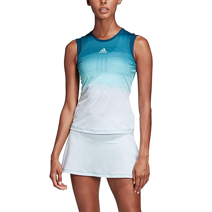 venta de tienda outlet comprar mejor precio al por mayor adidas Parley Tank Camiseta de Tenis, Mujer