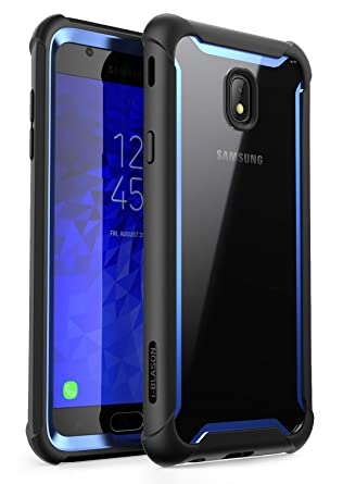 i-Blason Case Designed for Galaxy J7 (SM-J737 2018 Release), [Ares] Full-body Rugged Clear Bumper Case with Built-in Screen Protector Not fit (J7 Pro ...