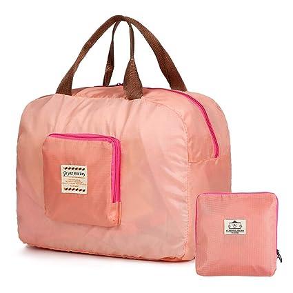 Amazon.com: Zhijie-snd - Bolsa de viaje plegable de nailon ...