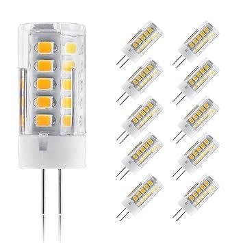 Ascher 10 Stücke G4 5W LED Lampe 33 X 2835 SMD Leds - Ersetzt 30W ...