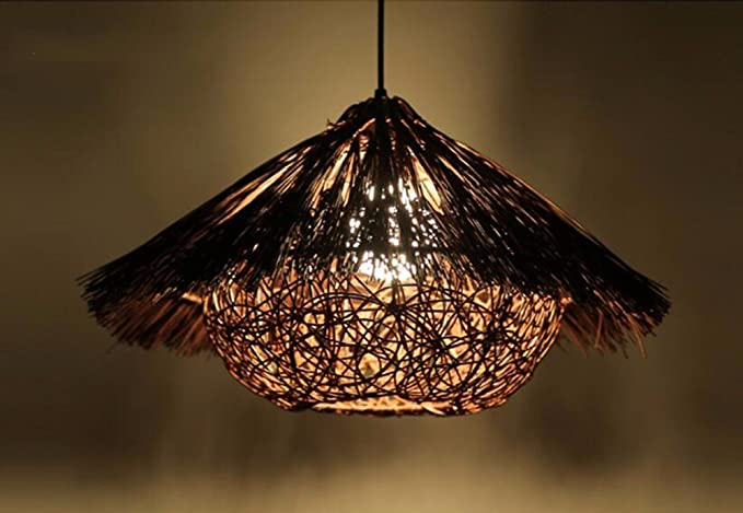 Plafoniere In Vimini : Lighsch lampadari sospensione soffitto luce di un ristorante in