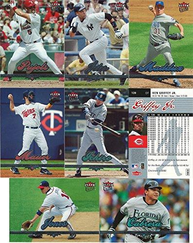 2006 Fleer Ultra MLB Baseball Master Series Complete Mint 200 Card Regular Issue Set Plus Six 90 Insert Sets