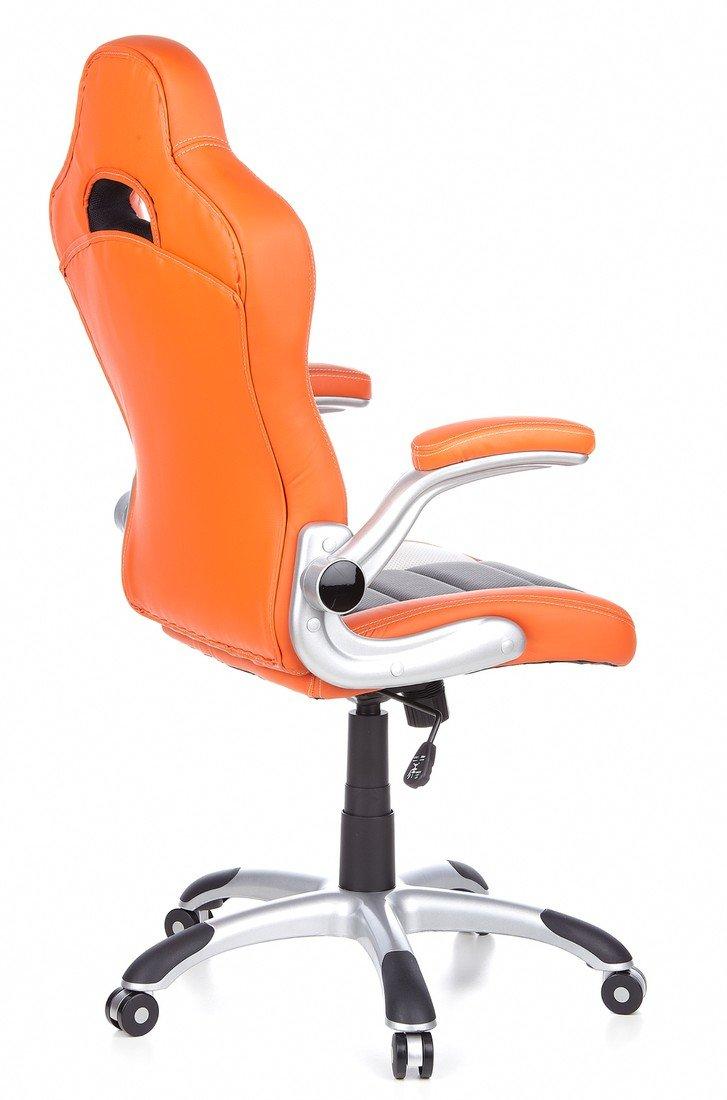 HJH Office RACER SPORT - Silla gaming o de oficina, color naranja y ...
