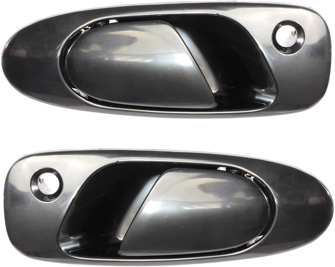Front Crystal Blue Metallic Genuine Honda 72180-SL9-003YD Door Handle Assembly Left