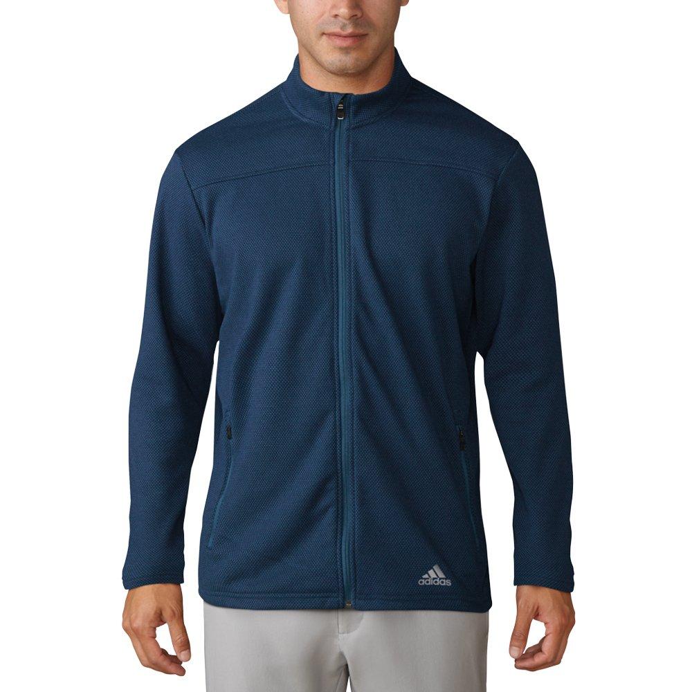 adidas Golf Men's Climawarm 1/4 Zip Fleece Sweater, Petrol Night, Large