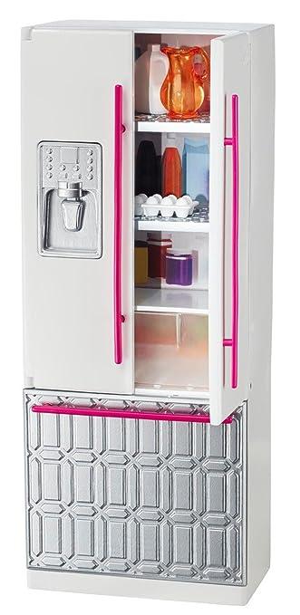 Barbie Mattel CFG70 - Kühlschrank, Puppenzubehör: Amazon.de: Spielzeug