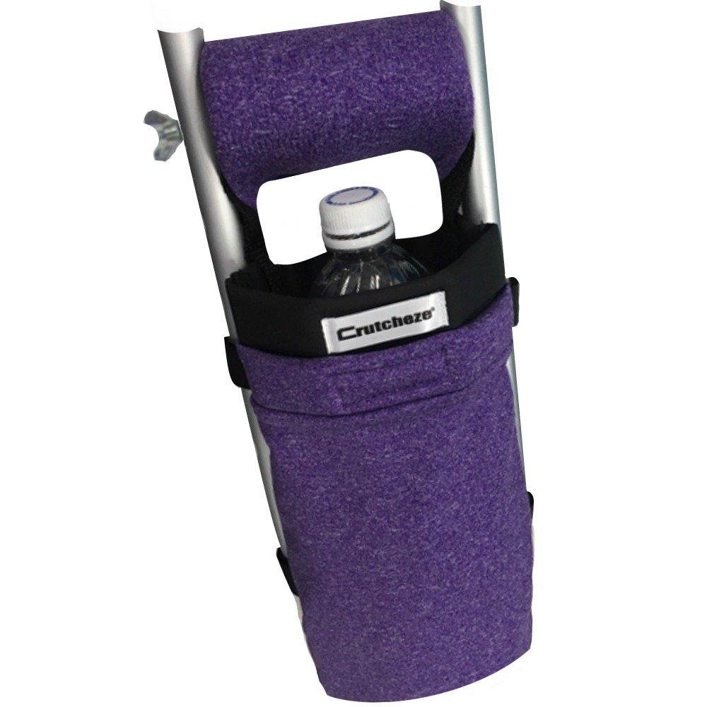 Crutcheze Purple Heather Crutch Bag, Pouch, Pocket, Tote Washable Designer Fashion Orthopedic Products Accessories