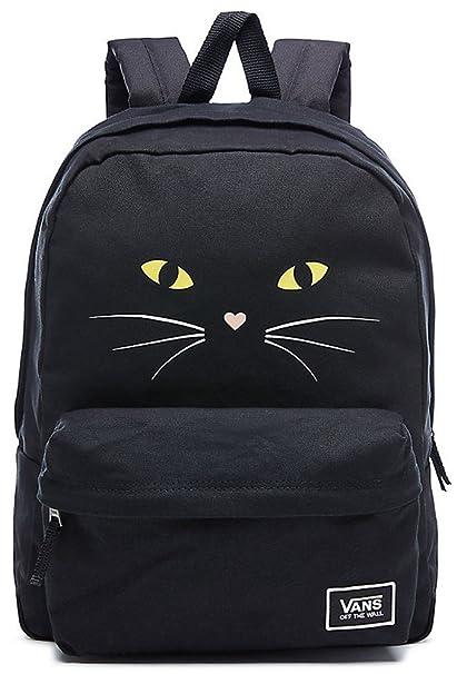 Vans Mochila de a Diario, Gato Negro (Negro) - VA34G7P21: Amazon.es: Equipaje