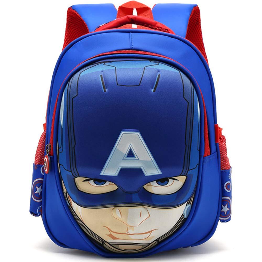 Abejorro Transformers Capitán América Mochila Escolar Para Niños Mochilas Para Adolescentes Para Niños Y Niñas Mochilas Escolares,Bumblebee-30 * 26 * 12cm: ...