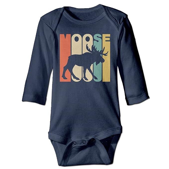 Amazon Com Scotchblue Vintage Style Moose Silhouette Autumn Long