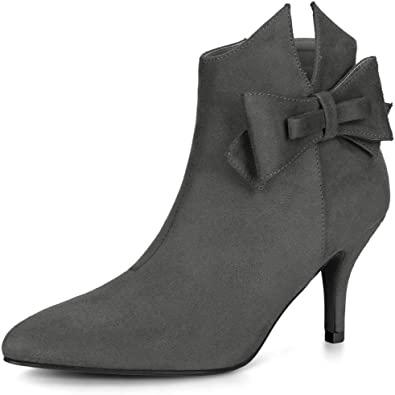 Allegra NEW Womens Booties Gray Chelsea Boots