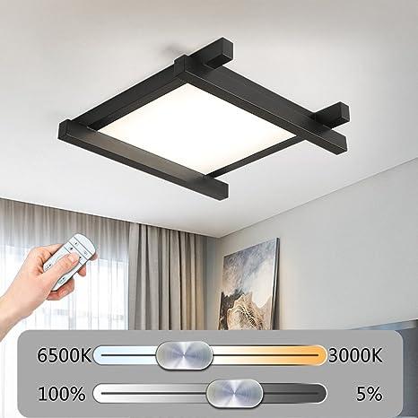 Modern LED Lámpara de techo rectangular sin niveles ...