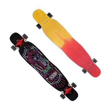 Brilliant firm Patinetes para Niños Patineta de Cuatro Ruedas para Niños con patinetas Rojas (Color : Black): Amazon.es: Deportes y aire libre