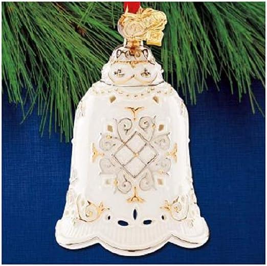 Lenox 2020 Christmas Bell Ornament Amazon.com: Lenox 2020 Annual Ornament, 0.65 LB, Ivory: Home & Kitchen