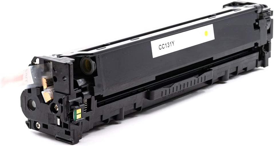 Works with: imageCLASS MF8280Cw InkSurf Compatible Toner Replacement for Canon 131 LBP7110Cw Yellow 6269B001AA