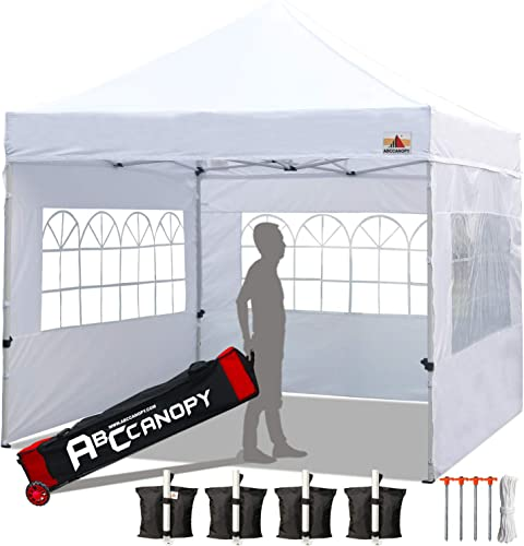 ABCCANOPY Tents Canopy Tent 10 x 10 Pop Up Canopies Commercial Tents Market'stall