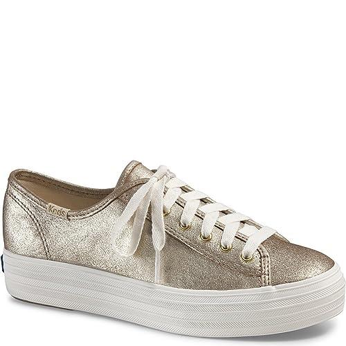 zapatillas keds doradas 70