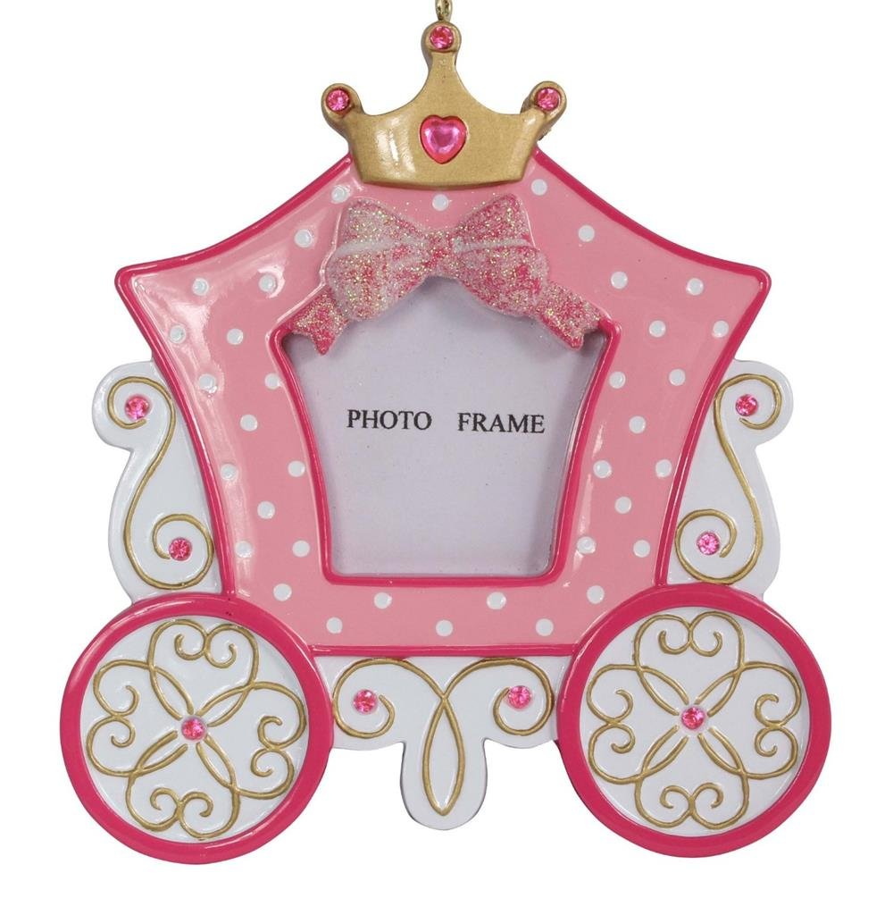 Personalized Princess Carriage Photo Frame