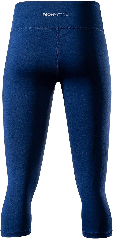 RION Active Womens Yoga Capri Shorts Leggings Workout Cropped Pants