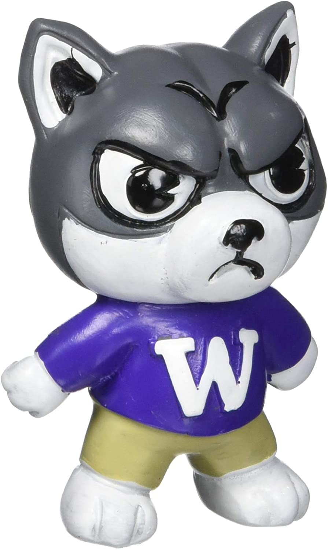 Purple NCAA Zephyr Washington Huskies Mens Tokyodachi Collectible 3 inch