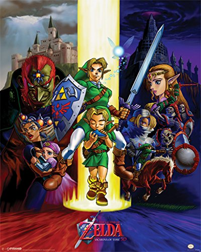 Pyramid America The Legend of Zelda The Ocarina of Time Video Game Gaming Cool Wall Decor Art Print Poster 16x20 inch