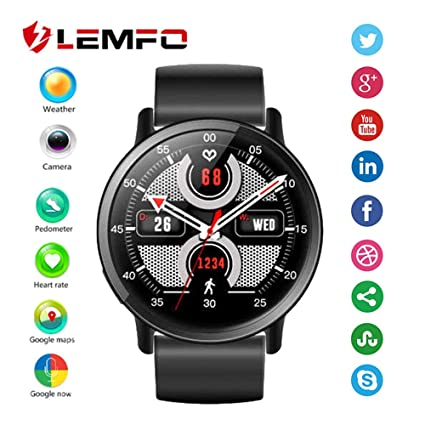 Amazon.com: OJBDK Smart Watch Android 7.1 LTE 4G SIM WiFi ...