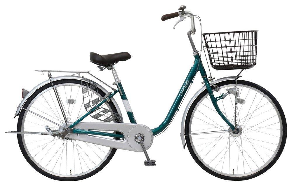 marukin(マルキン) 完全組立 24インチ自転車 LEDオートライト プチベル ピンク MK-18-017 B07CYS4WPK グリーン グリーン
