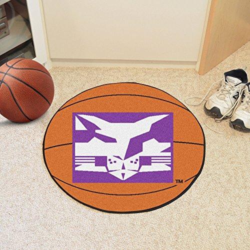 Fanmats Sports Team Logo Design NYU Basketball Mat (Basketball Rug Nyu)