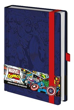 Marvel- Cuaderno Capitán América (SR72206)